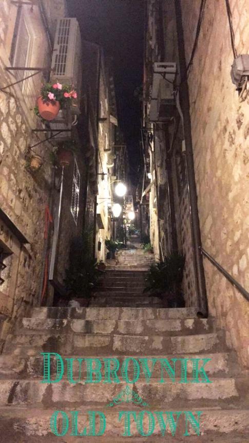 Dubrovnik old town sokak manzaraları-2