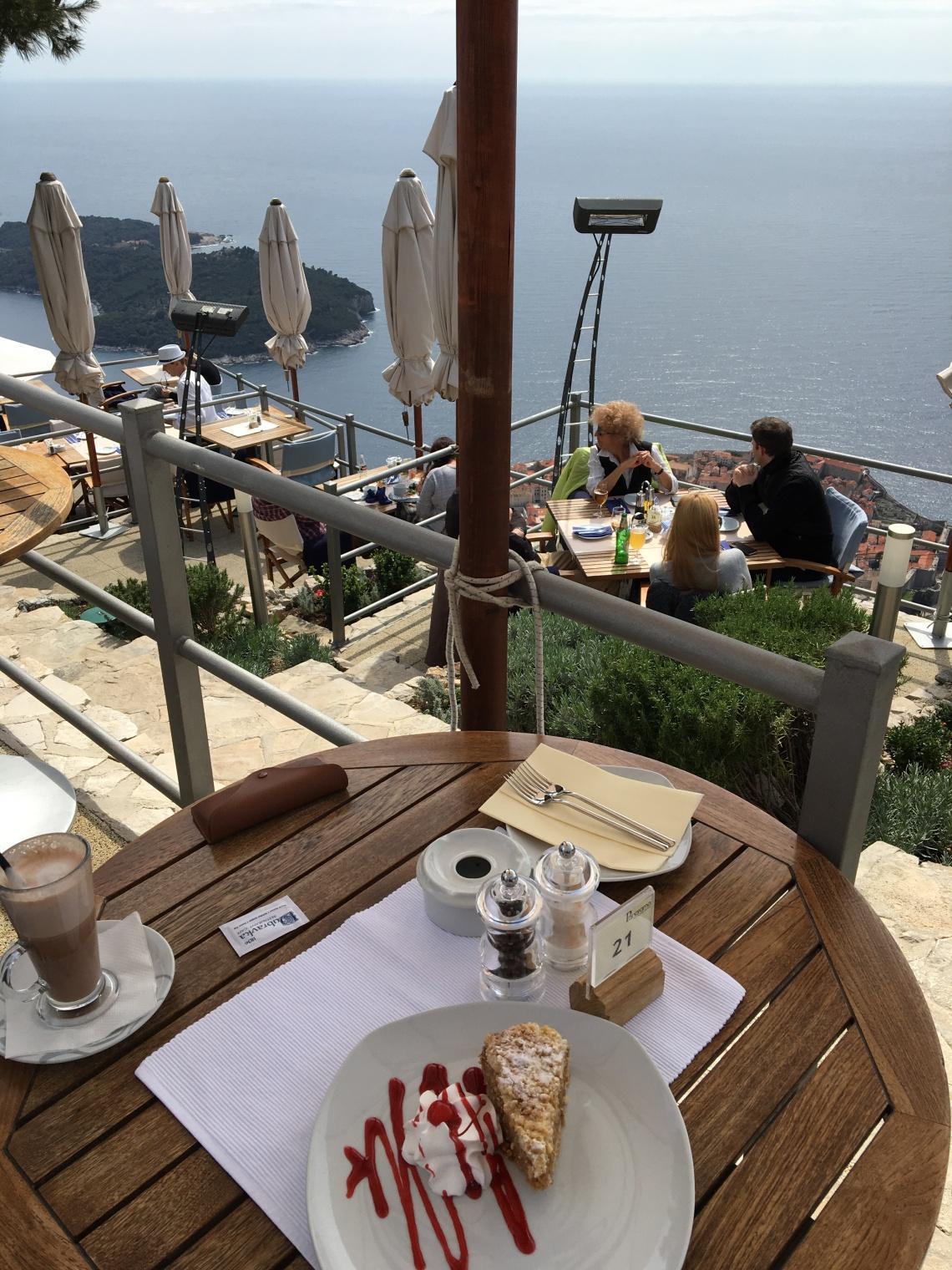 Panaroma view restoran manzara