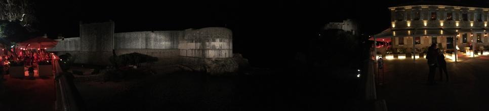 St John Fortress panoramik manzara